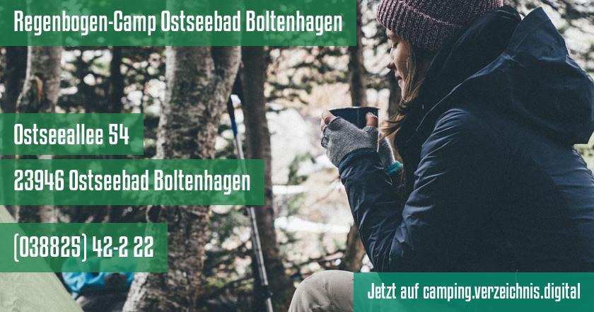 Regenbogen-Camp Ostseebad Boltenhagen auf camping.verzeichnis.digital