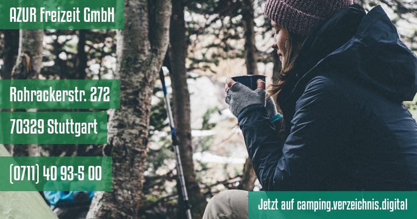 AZUR Freizeit GmbH auf camping.verzeichnis.digital