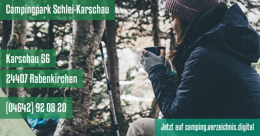 Campingpark Schlei-Karschau auf camping.verzeichnis.digital