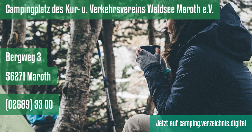 Campingplatz des Kur- u. Verkehrsvereins Waldsee Maroth e.V. auf camping.verzeichnis.digital
