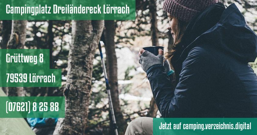 Campingplatz Dreiländereck Lörrach auf camping.verzeichnis.digital