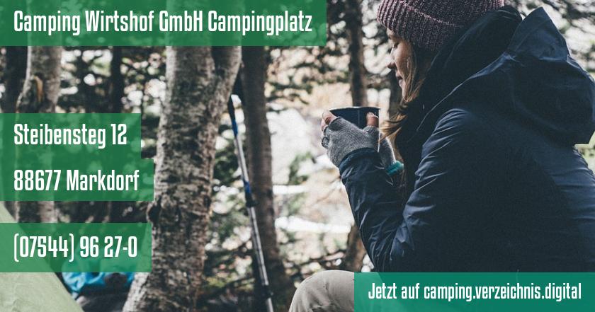 Camping Wirtshof GmbH Campingplatz auf camping.verzeichnis.digital
