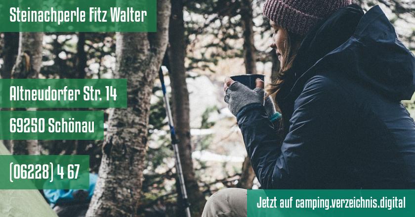 Steinachperle Fitz Walter auf camping.verzeichnis.digital