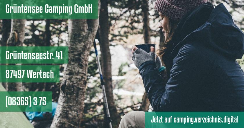 Grüntensee Camping GmbH auf camping.verzeichnis.digital