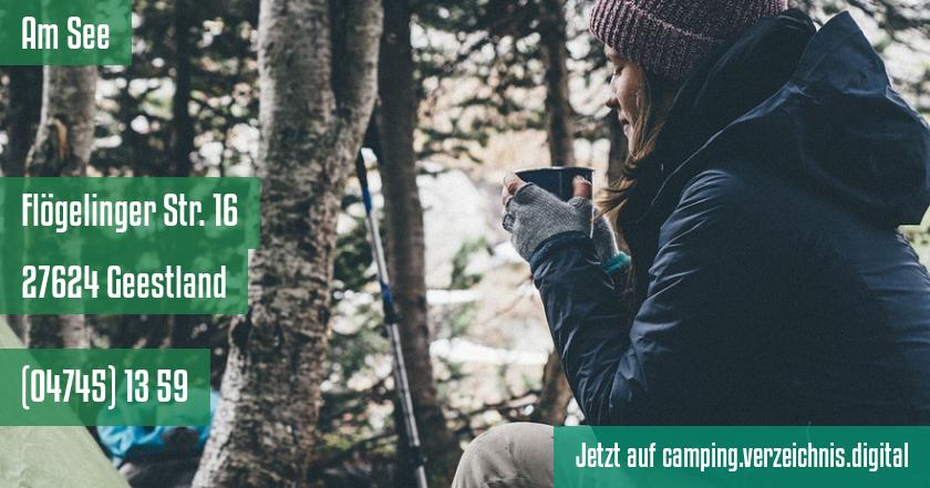 Am See auf camping.verzeichnis.digital