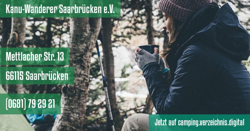 Kanu-Wanderer Saarbrücken e.V. auf camping.verzeichnis.digital