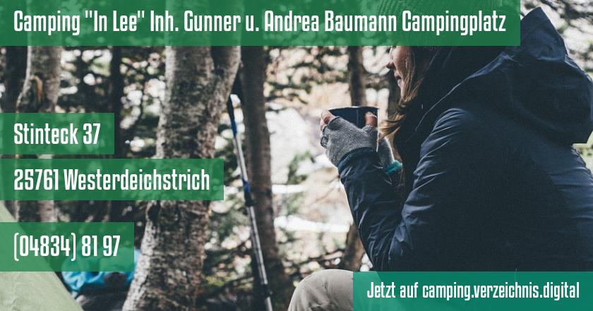 Camping In Lee Inh. Gunner u. Andrea Baumann Campingplatz auf camping.verzeichnis.digital