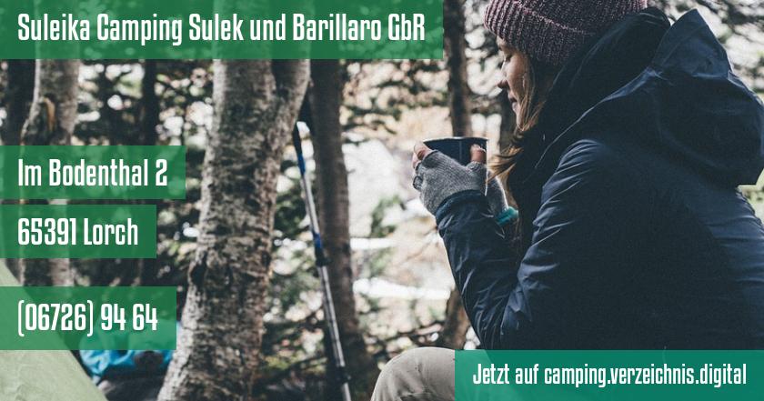 Suleika Camping Sulek und Barillaro GbR auf camping.verzeichnis.digital