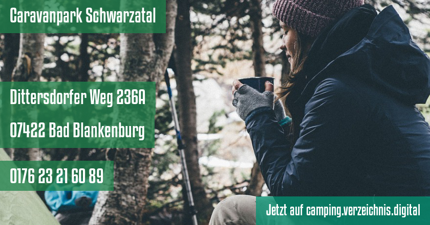 Caravanpark Schwarzatal auf camping.verzeichnis.digital