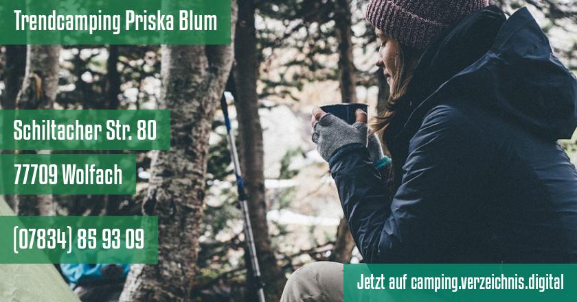 Trendcamping Priska Blum auf camping.verzeichnis.digital