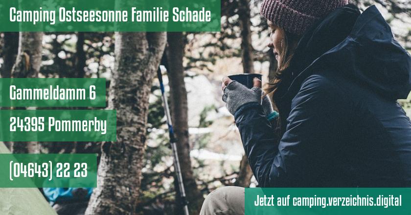 Camping Ostseesonne Familie Schade auf camping.verzeichnis.digital