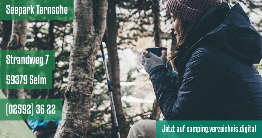 Seepark Ternsche auf camping.verzeichnis.digital