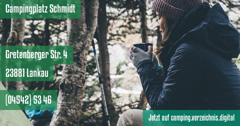Campingplatz Schmidt auf camping.verzeichnis.digital