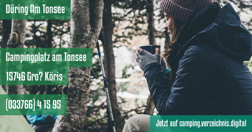 Düring Am Tonsee auf camping.verzeichnis.digital