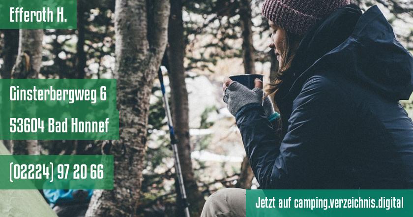 Efferoth H. auf camping.verzeichnis.digital