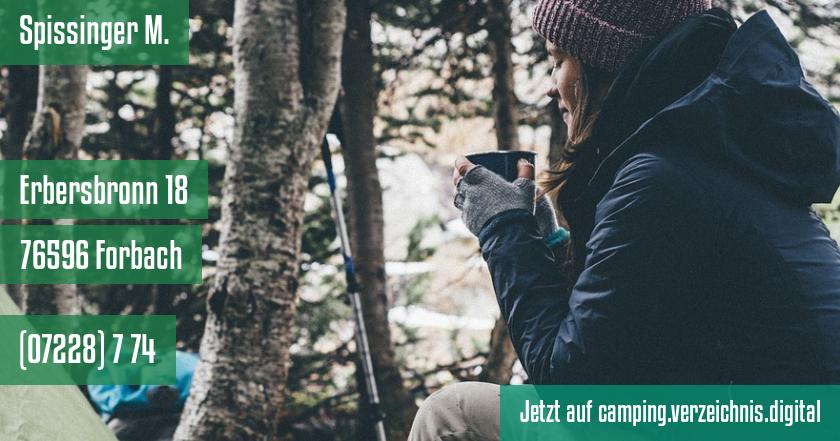 Spissinger M. auf camping.verzeichnis.digital