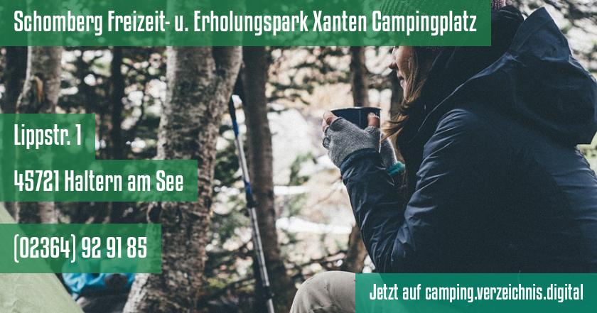 Schomberg Freizeit- u. Erholungspark Xanten Campingplatz auf camping.verzeichnis.digital